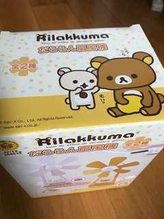 鬆弛熊 Rilakkuma USB Fan 粉紅色桌上風扇 日本直送非賣品