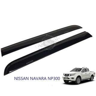 NISSAN NAVARA NP300 (NNS-130) CARBON DESIGN CAR DOOR VISOR