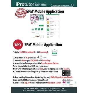 Free SPM Apps Looking for Sponsors