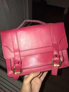 ZARA satchel sling bag