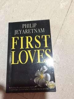 Philip Jeyaretnam -First loves
