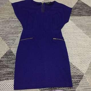 Forever 21 Royal blue mini dress