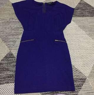 Forever 21 Royal blue mini dress