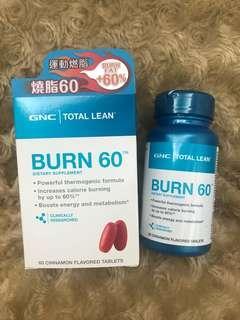 🎀全新🎀 GNC Burn60