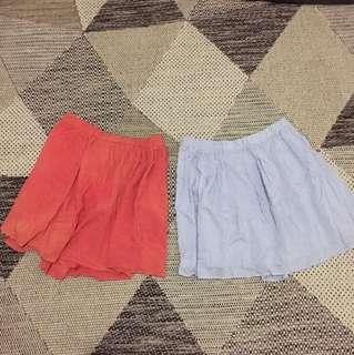 Cotton one skirt bundle 2 pcs
