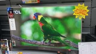 Kredit Curved LED Smart TV TCL (Promo Gratis 1x Cicilan)