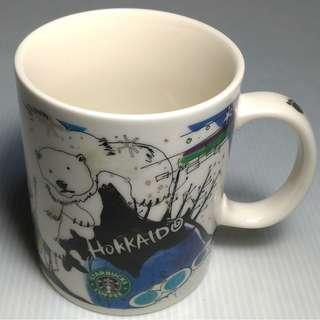 【跨年前賣場任2件減200】絕版逸品 STARBUCKS 星巴克 舊日彩 日本北海道 HOKKAIDO 馬克杯 城市杯