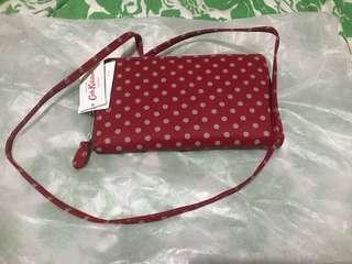 Authentic Brandnew Cath Kidston Travel wallet with Sling