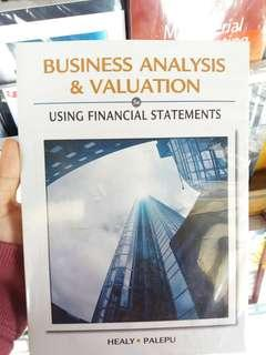 Business valuation and analysis