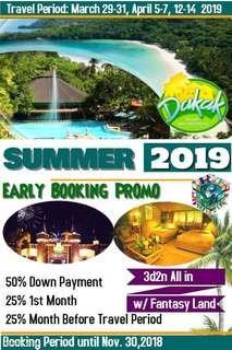 3d2n ALL IN DAKAK SUMMER 2019