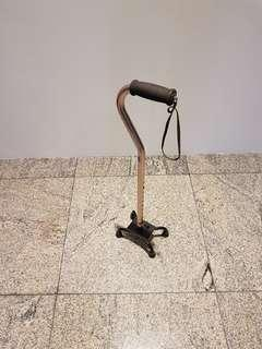Quad walking stick