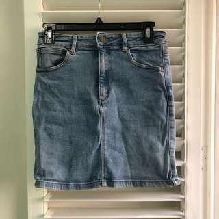 A Brand Denim Mini - Size 8-10
