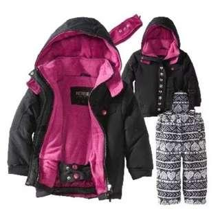 [NEW] Girls Winter 2 piece Ski Outfit!