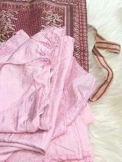 Muken pink bundle tas perlengkapan sholat
