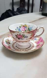 Royal Albert 'Lady Carlyle' Cup & Saucer