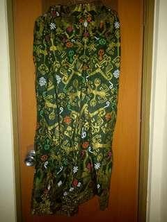 Rok Batik Hijau