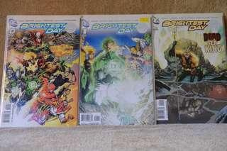 DC Comics - Brightest Day #0 to #24 and Brightest Day Aftermath: The Search for Swamp Thing #1 to #3