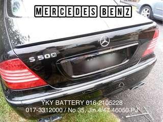 Kereta Bateri Mercedes Benz , Century MF DIN100