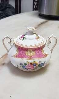 Royal Albert 'Lady Carlyle' Sugar Bowl With Lid