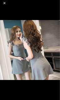 BN Flutter Sleeve Dress