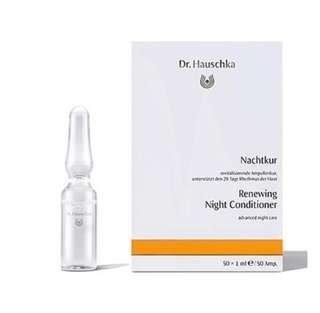 Dr Hauschka renewing night condition