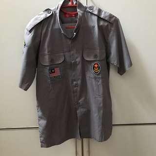 Pengakap uniform for kids