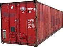 Unload 20' container