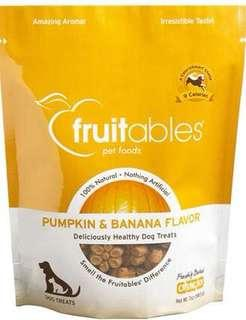 BNIB Fruitables Banana Dog Treats