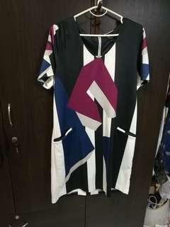 Zalora M size dress