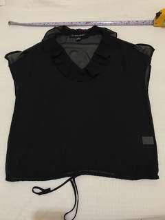🚚 Theme 黑色透膚上衣 36號
