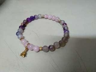 🚚 出清商品/紫色串珠手環
