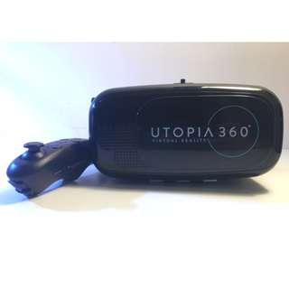 Utopia 360° VR Headset with controller