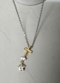 🚚 出清商品/韓國代購/十字架造型鎖骨鏈