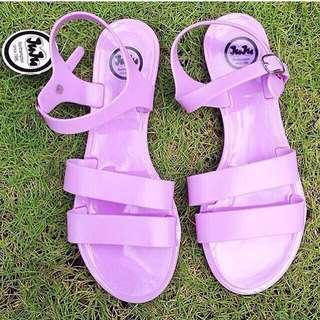 Authentic lilac juju sandals from asos