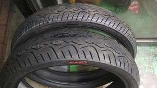 CST (maxxis) touring tyre 90/80-17 120/70-17