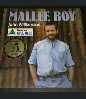 JOHN WILLIAMSON - MALLEE BOY LP RECORDS