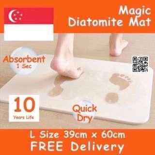 Diatomite Water Absorbent Mat