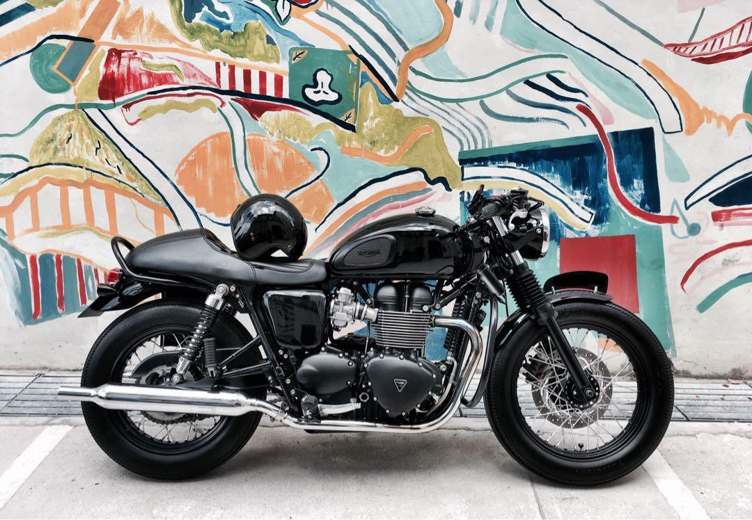 2016 Triumph Bonneville T100 Black Edition Motorbikes Motorbikes