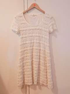 Korean Style Lace Dress Onepiece