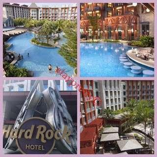 3D2N WEEKEND RWS Hard Rock Hotel Stay - SEPTEMBER till DECEMBER