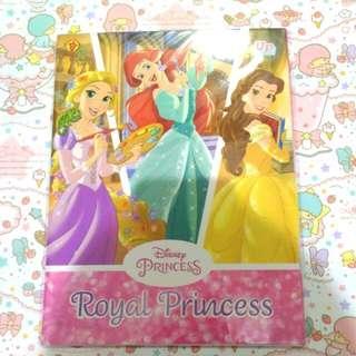 Royal Princess Pop Up with coloring