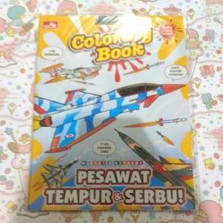 Coloring book Pesawat tempur&Serbu!