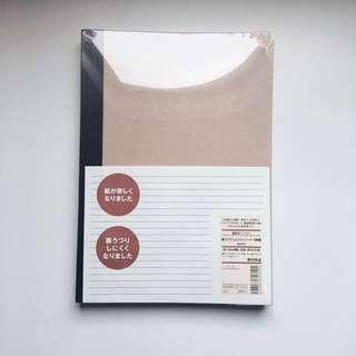 MUJI notebooks B5 6mm rule 30 sheets- pack of 5
