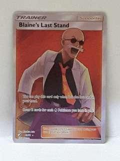 Pokèmon Blaine's Last Stand - 69/70 - Full Art Ultra Rare