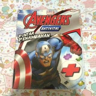 Marvel Avengers aktivitas Pintar penambahan