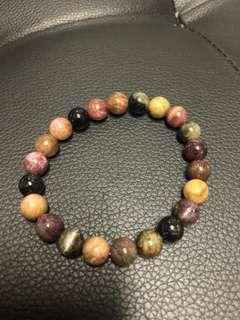 Tourmaline crystal bracelet 碧玺手链