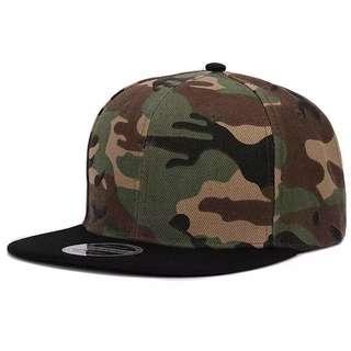 🆕! Camouflage Snapback Stylo Cap  #OK