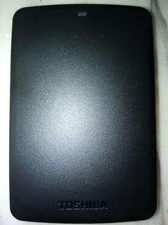 🚚 行動硬碟 Toshiba Canvio Basic (black) 1TB usb3