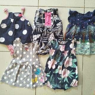 Asatd dress(1-2yrs)