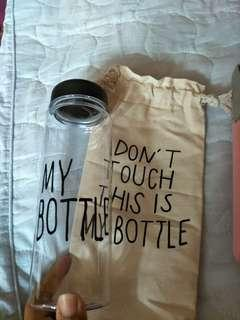 Botol my bottle with canvas bag